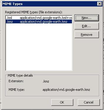 Google mime types på iis server
