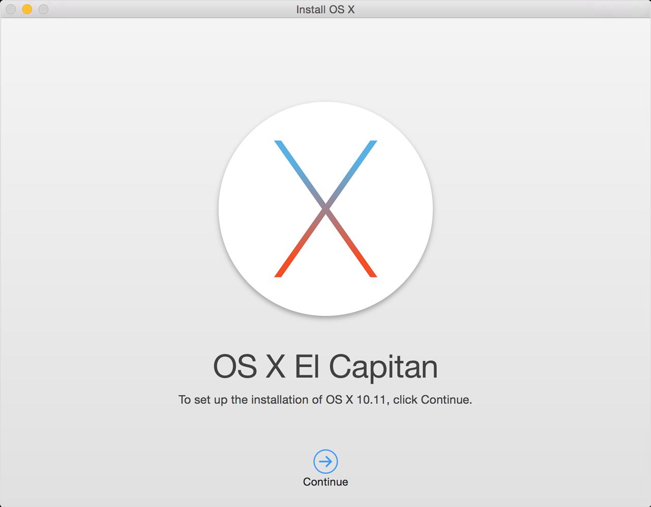 Mac osx versioner
